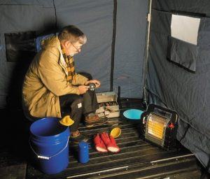 best portable propane heater for ice fishing